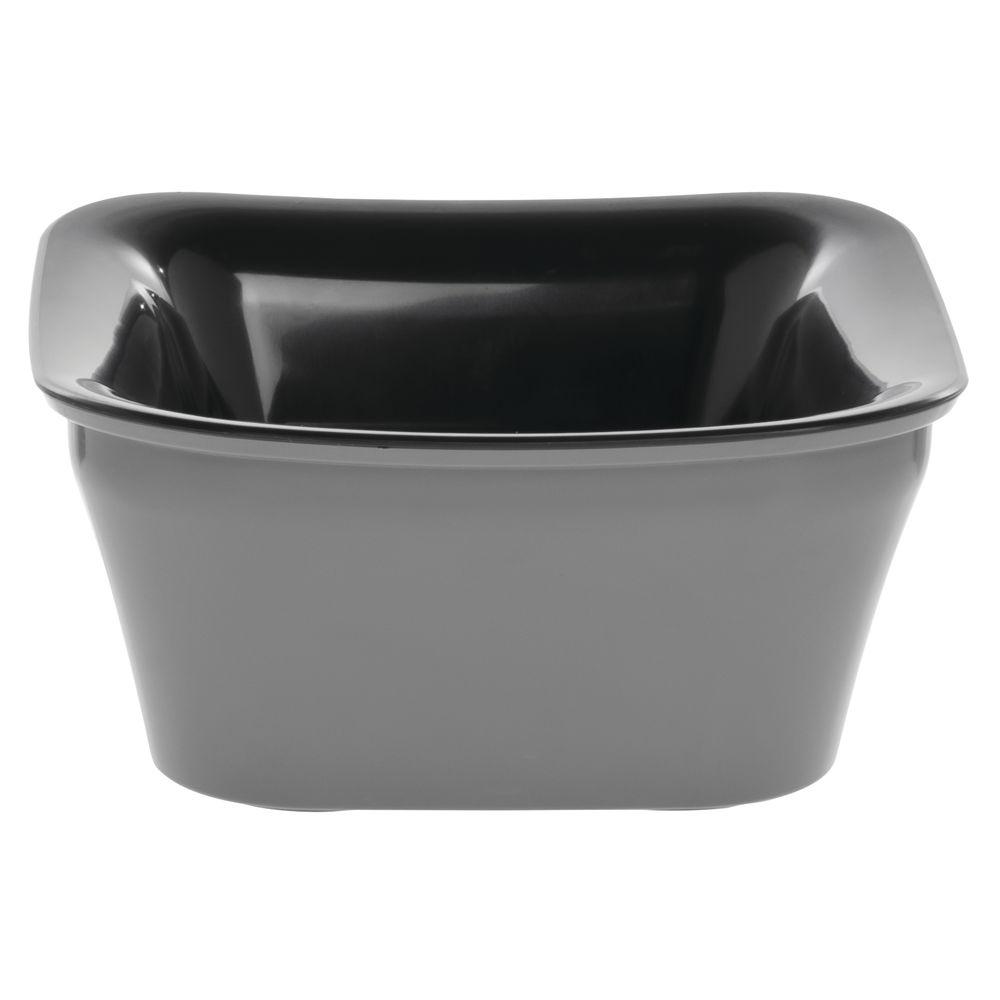 Carlisle® Designer Coldmaster® Crock Square 1 Qt Charcoal/Black