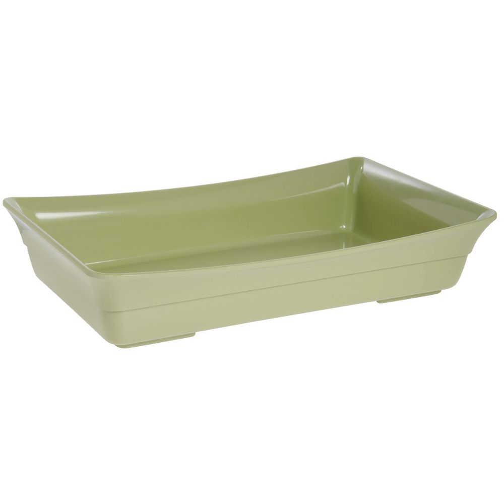 Expressly Hubert® Buffet Pan Willow Green Melamine Full Size