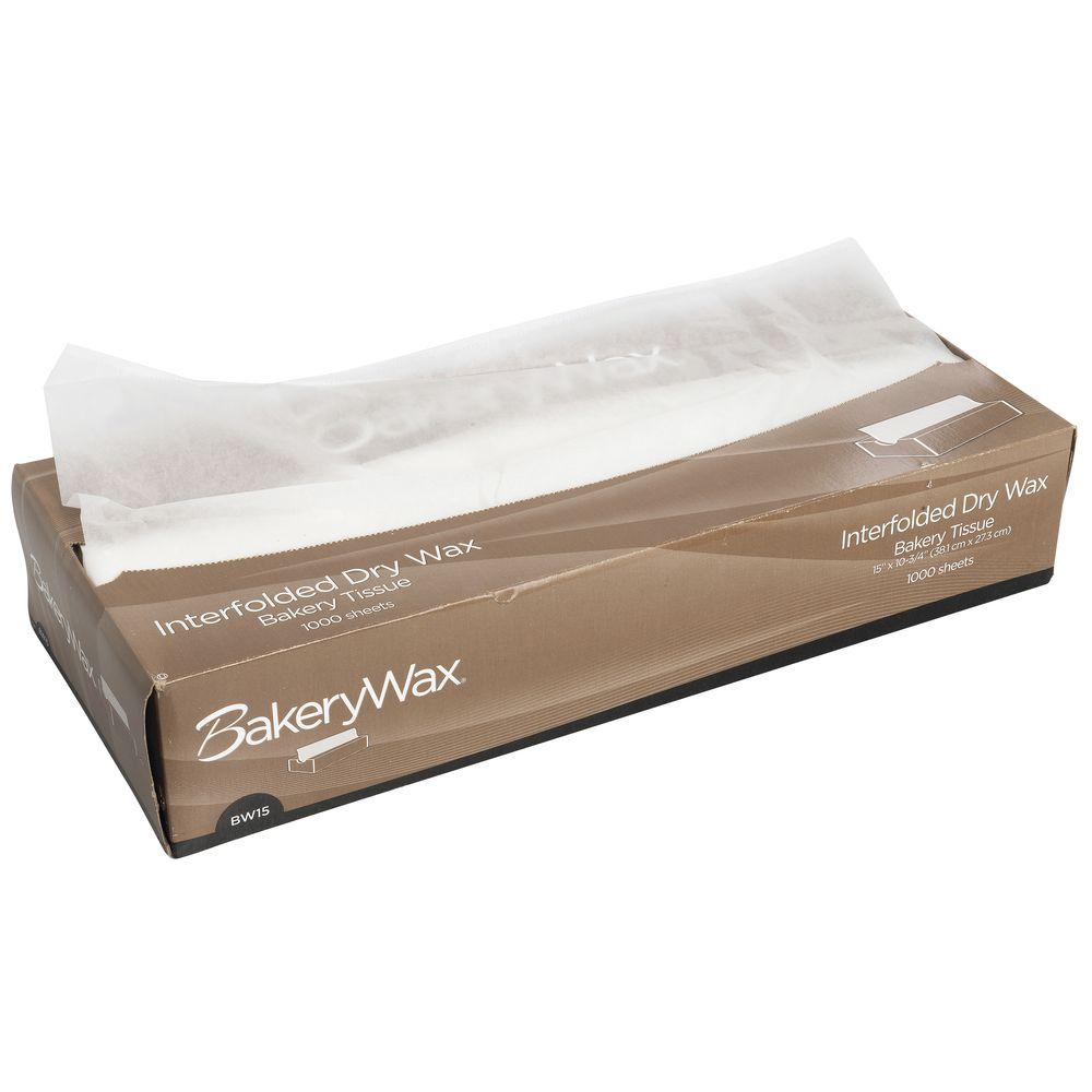 Medium Sized Bakery Pick Up Tissue With Dry Wax.