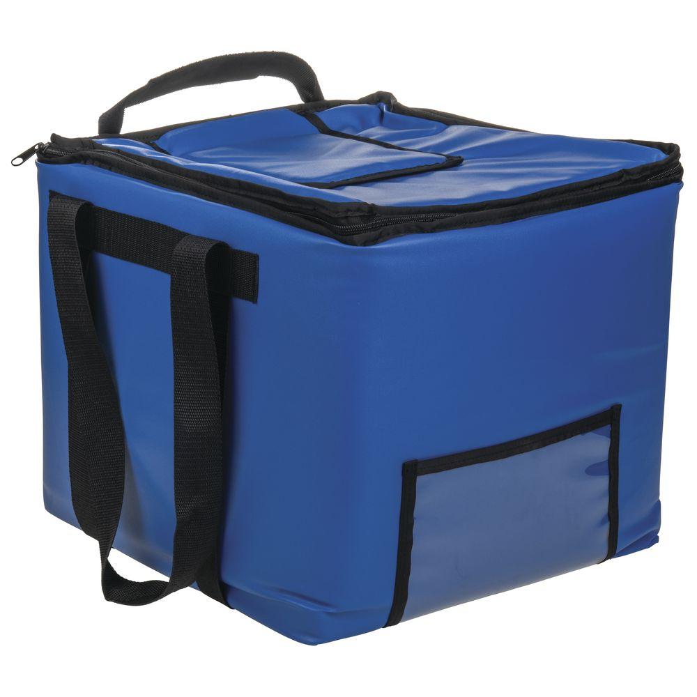 HUBERT Blue PVC/PEVA Insulated Milk Crate Bag