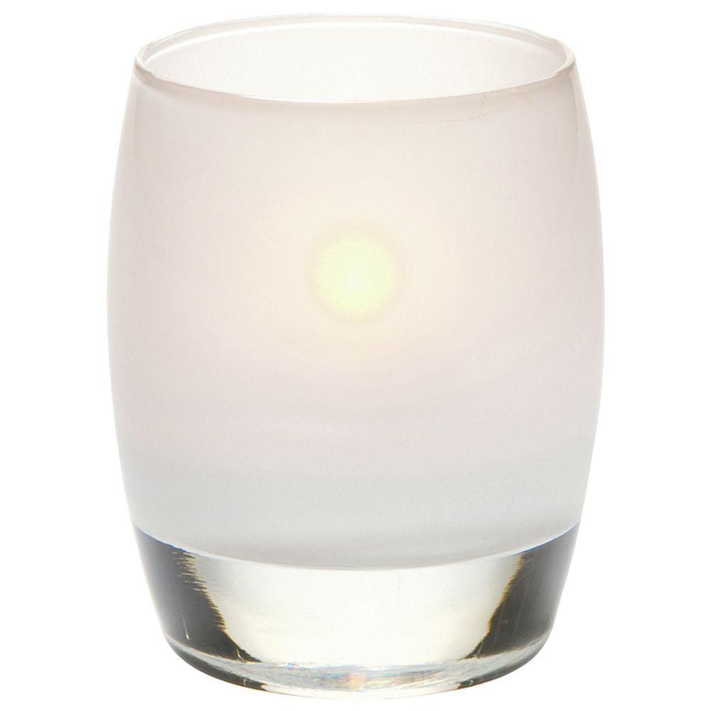 Votive Candle Holders Linen Finish Hollowick Contour Satin Linen Glass Votive Candle Holder 3 Dia X 3 3 4 H