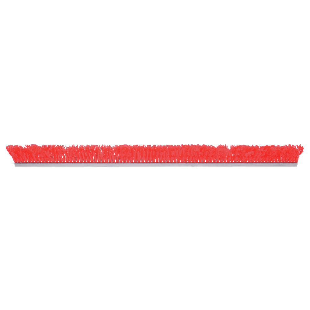 """Red Plastic Parsley Runner With Aluminum Support 30""""L x 2 1/4""""H"""