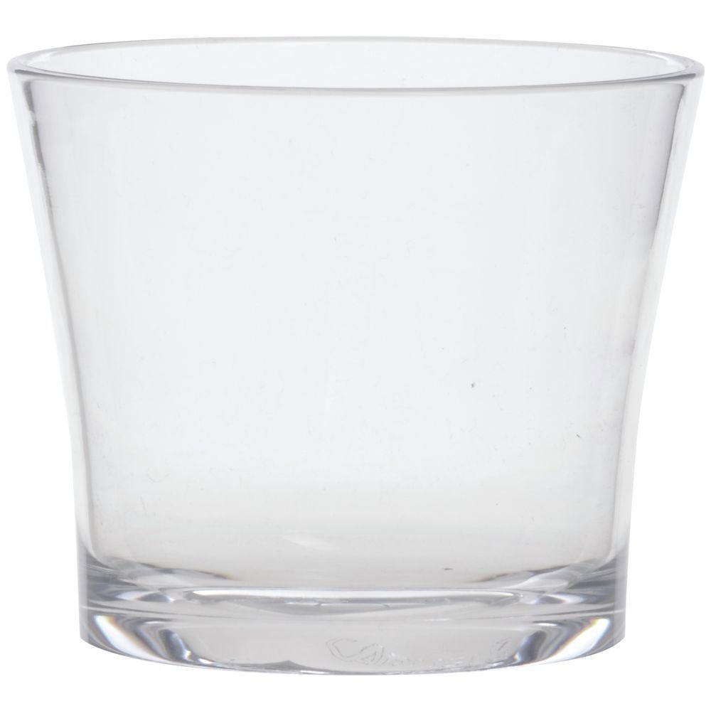 GLASS, DBL OLD FASH, PLASTIC, ALIBI, 12 OZ