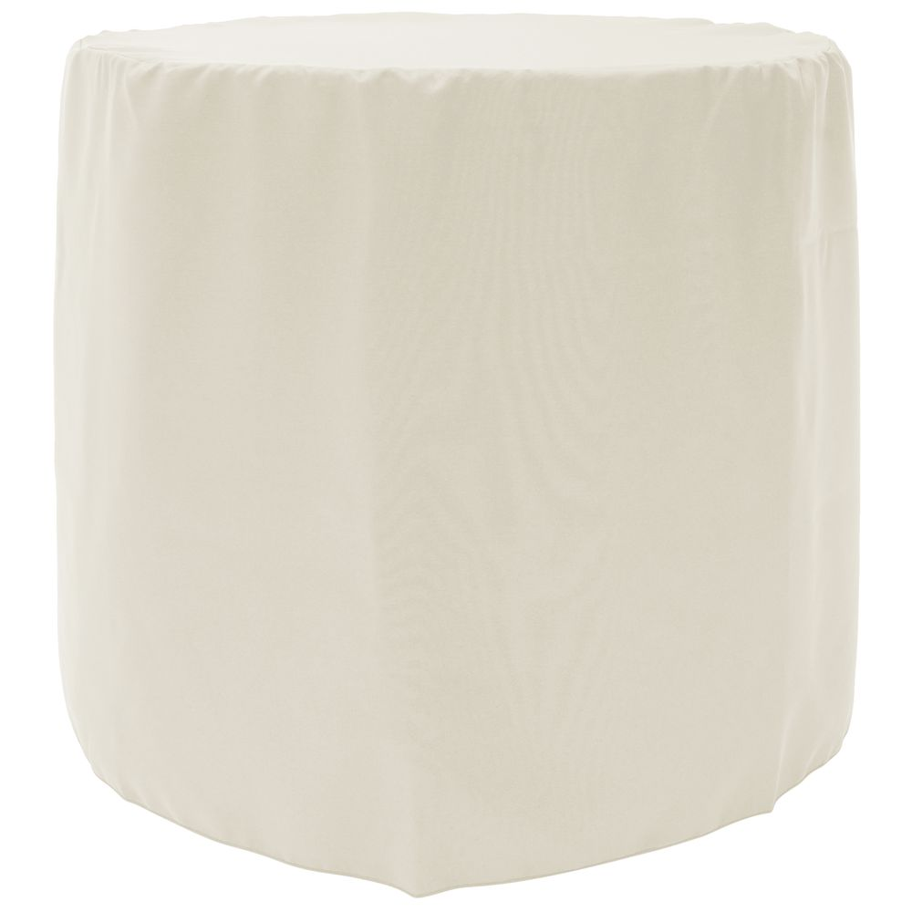 TABLECOVER, BARREL FITTED, 30X29, IVORY