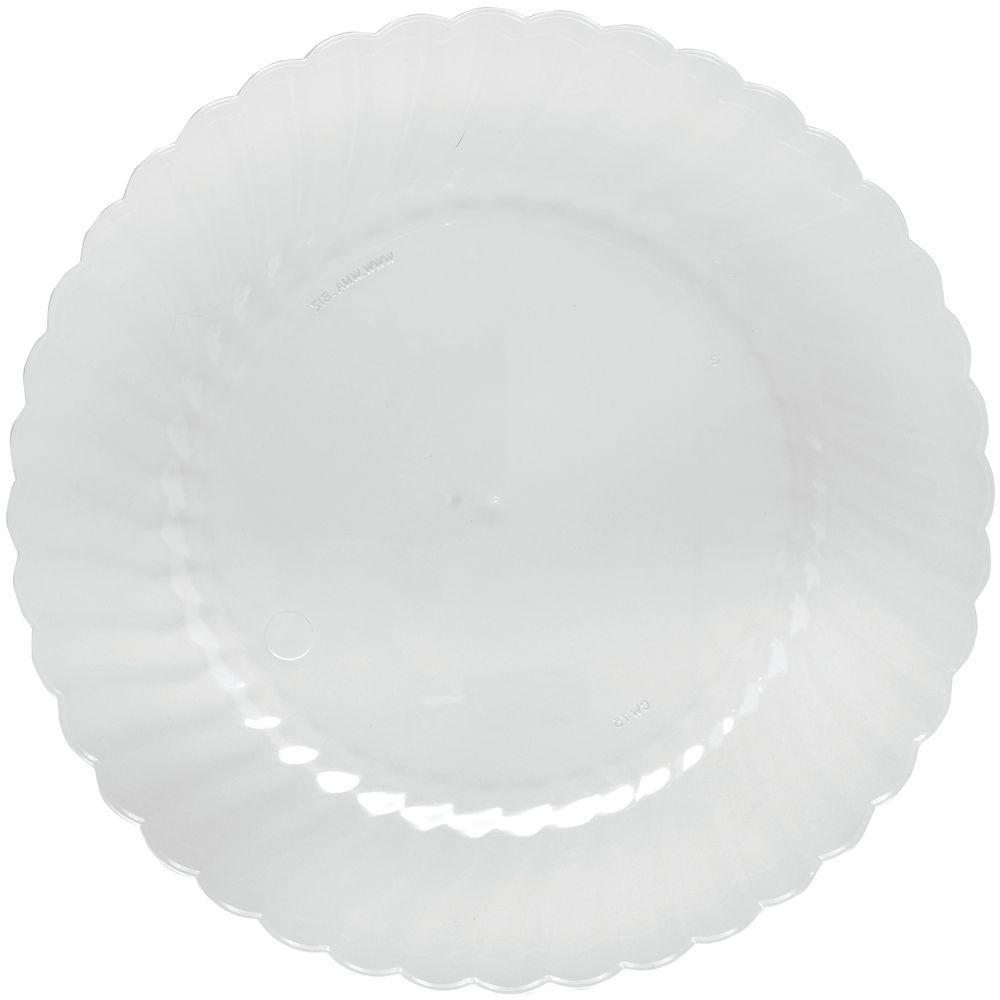 sc 1 st  Hubert.com & Classicware® Clear Polypropylene Plastic Plate - 9