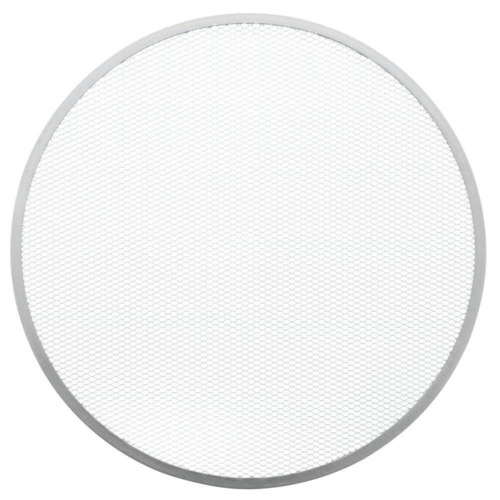 "Hubert® Aluminum Pizza Screen Seamless Rim 20""Dia"