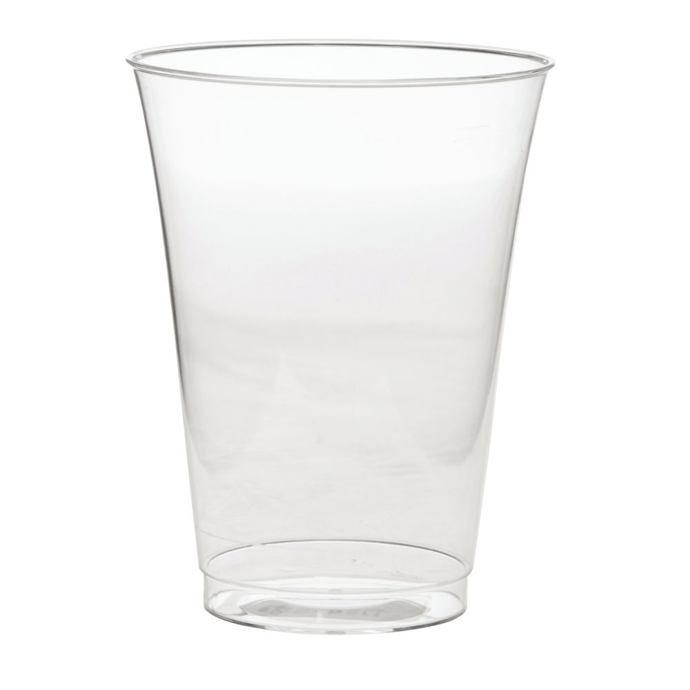 TUMBLER, CLEAR, 10 OZ, DISPOSABLE
