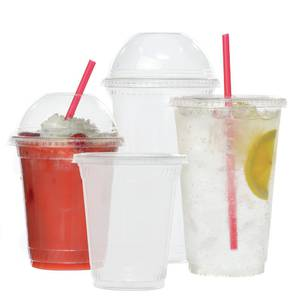 CUP, 16 OZ., CLEAR, PLASTIC