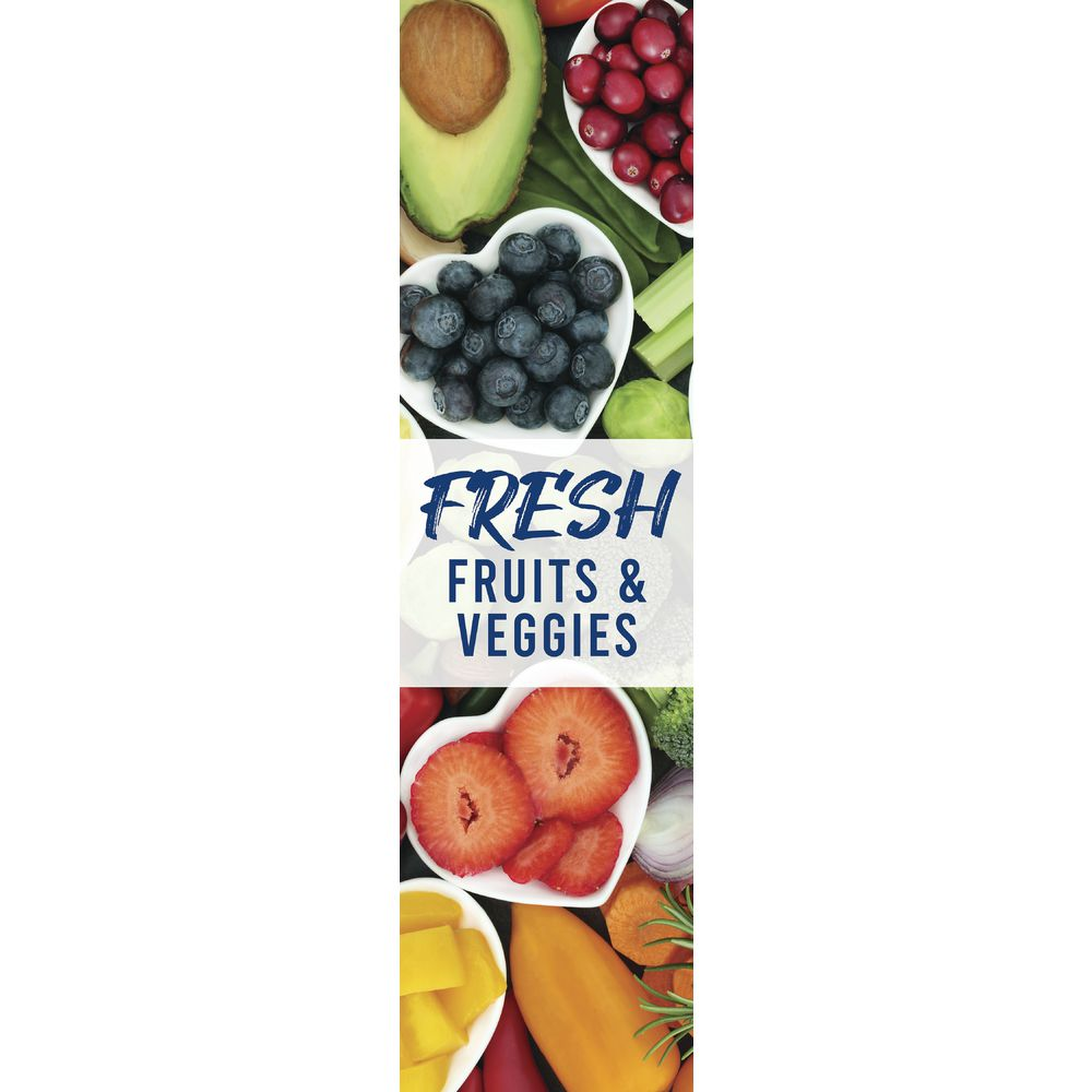 Expressly Fresh Fruit and Veggie Signage Set