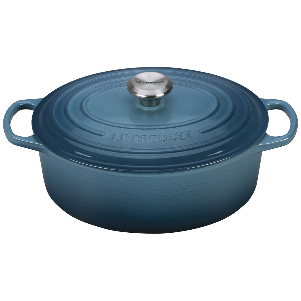 OVEN, FRENCH OVAL, MARINE, 5 QT, CAST