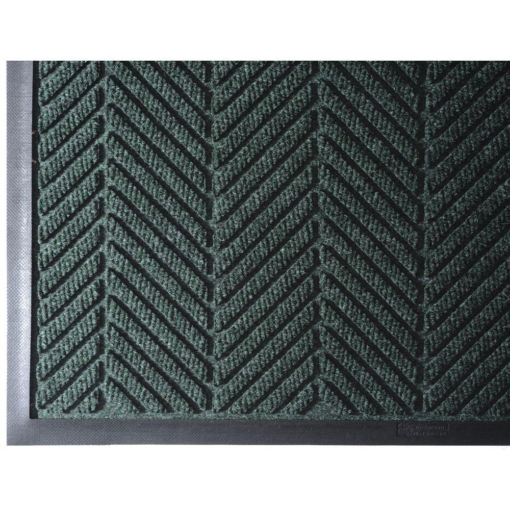 "WaterHog ECO Elite Entrance  Floor Mat 6' L x 6' W Tri-Denier Fiber 3/8"" Thick  Southern Pine"
