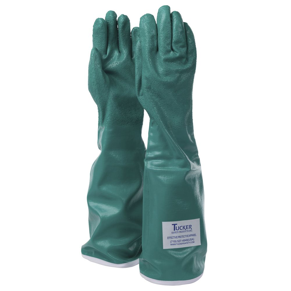 GLOVE, GREEN UTILITY, NITRILE, LARGE, 20""