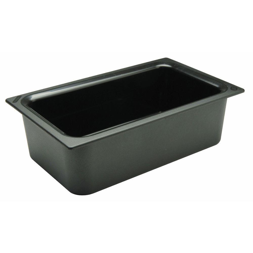 "Carlisle Coldmaster® Pan In Black Full Size 6""D"