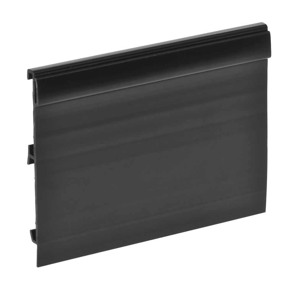 """2 Channel Sign Holder With Adaptor Extension 2 1/5""""H x 4""""L"""