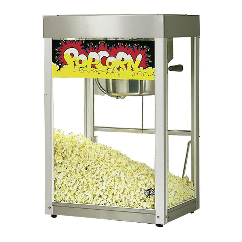 POPPER, POPCORN, 6 OZ, STAINLESS