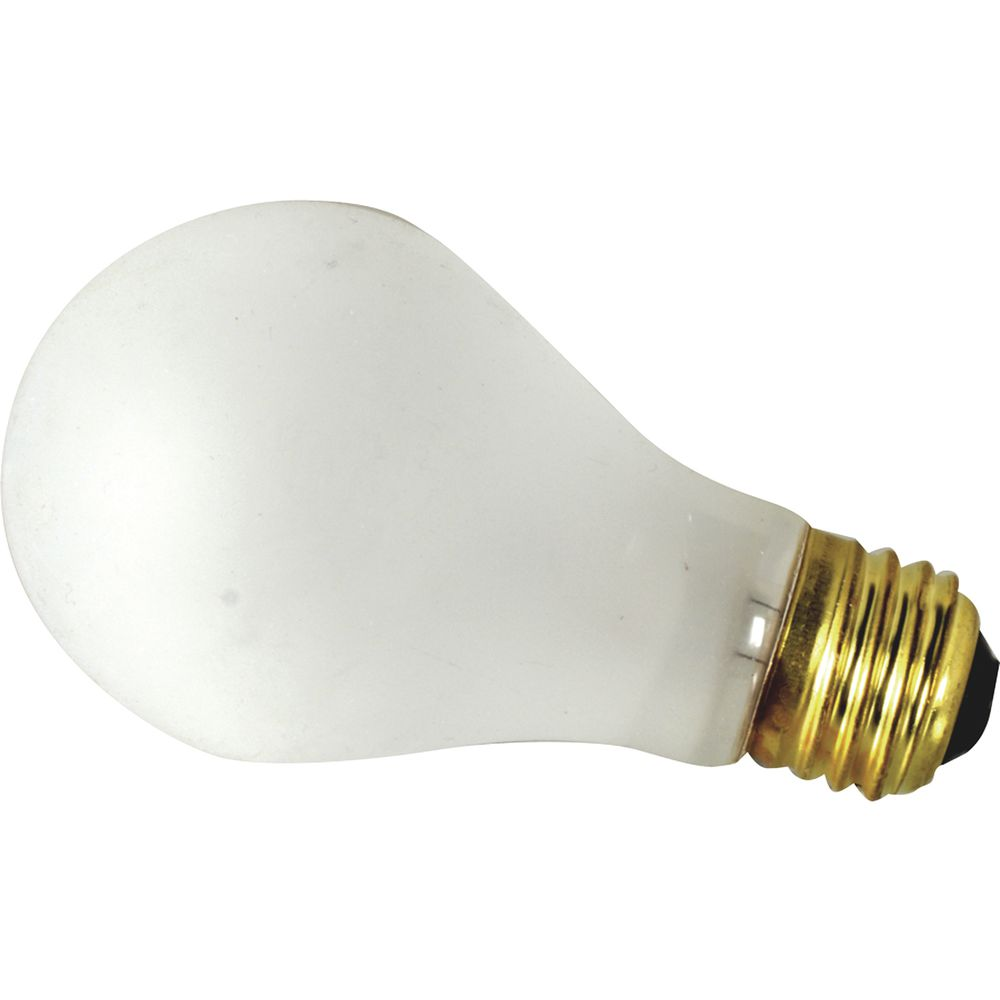 Fmp Frosted Glass 100 Watt Shatterproof Incandescent Light Bulb