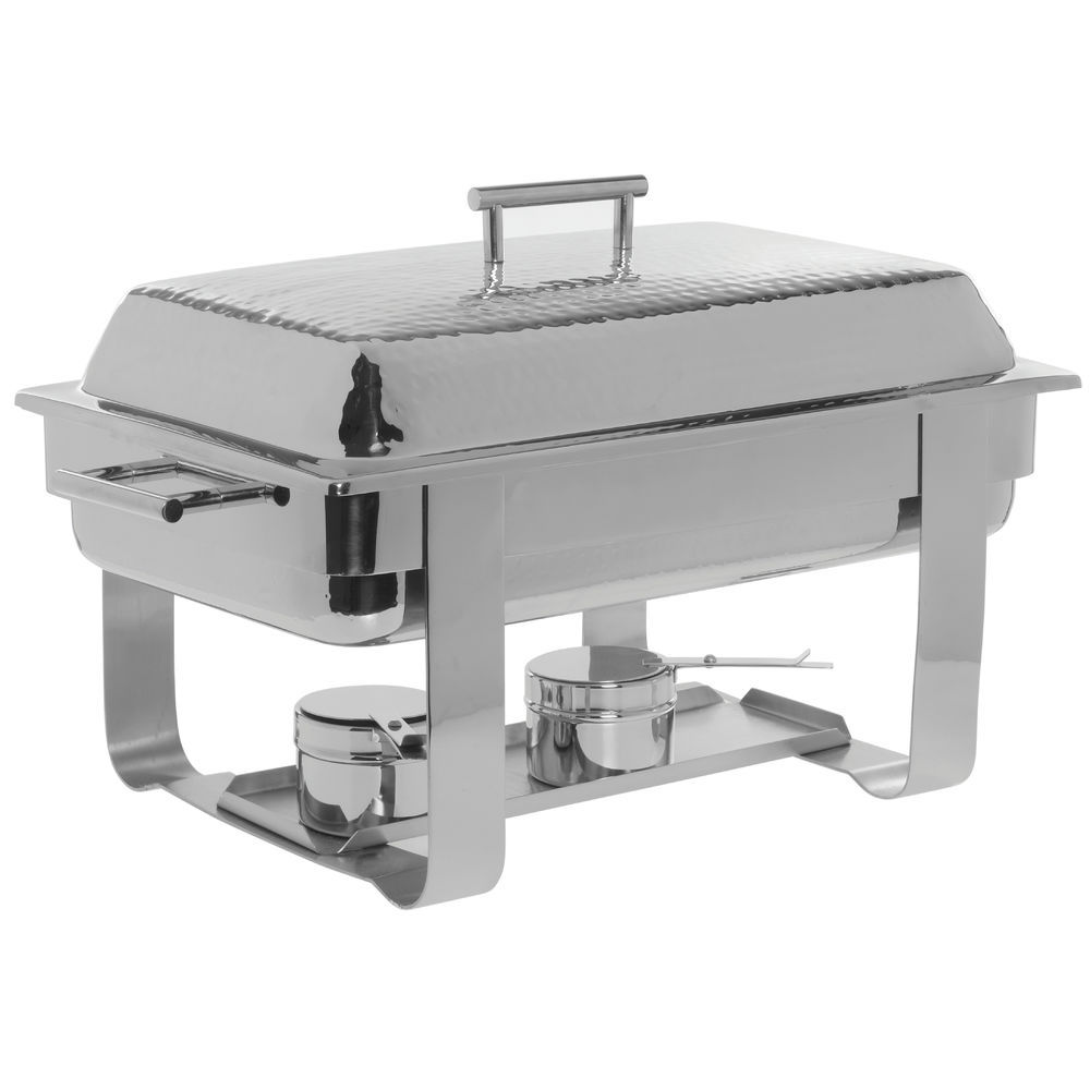 CHAFER HAMMERED S RECT 8QT 235X14X14