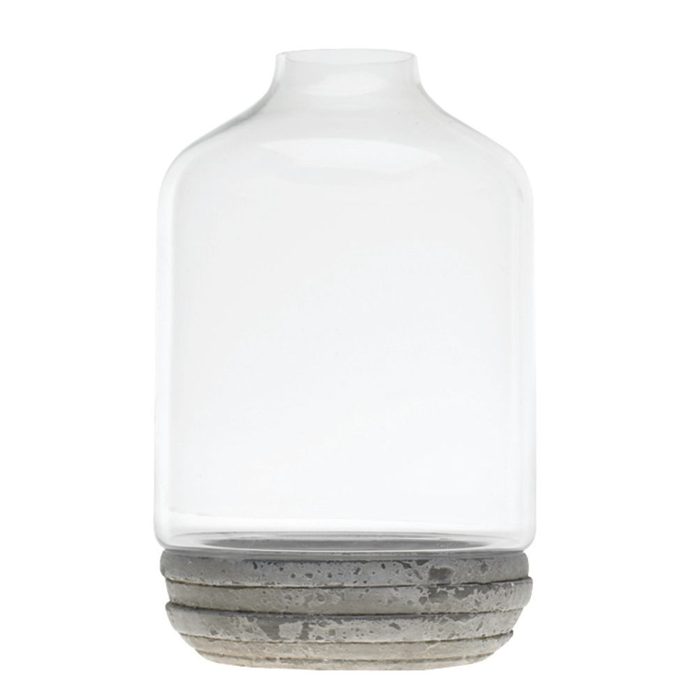 TERRARIUM, GLASS/CERAMIC, CREAM, 6.75X11.25