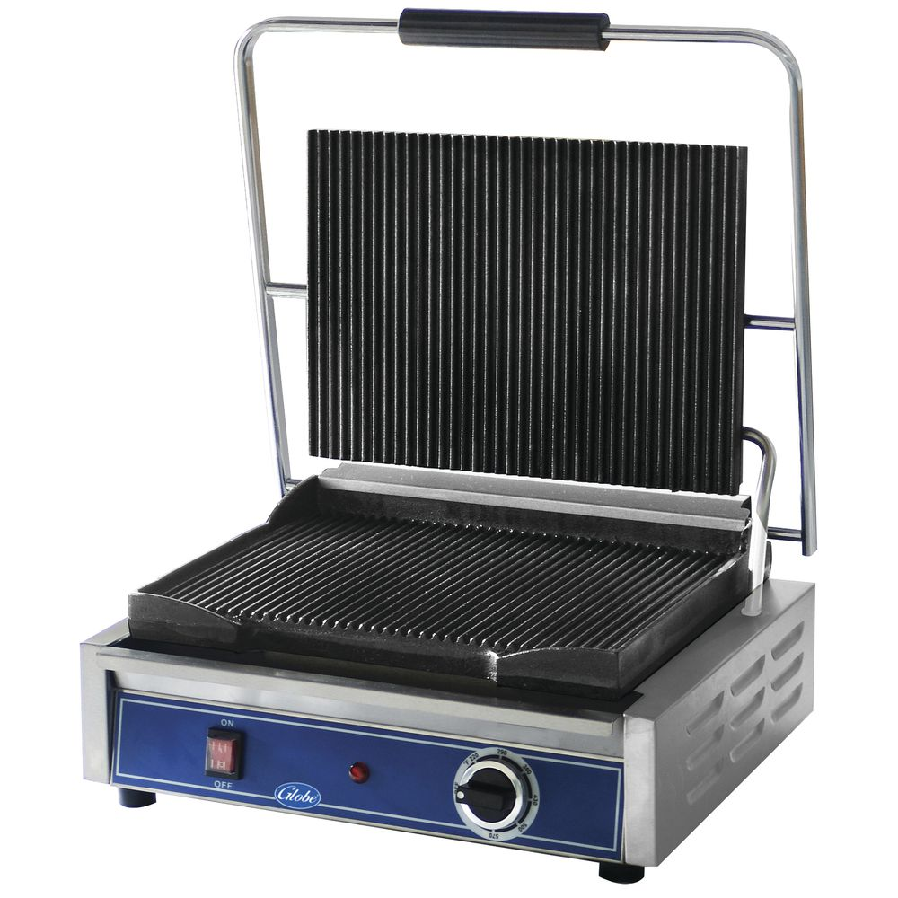 GRILL, PANINI, GROOVED, 14X10, US
