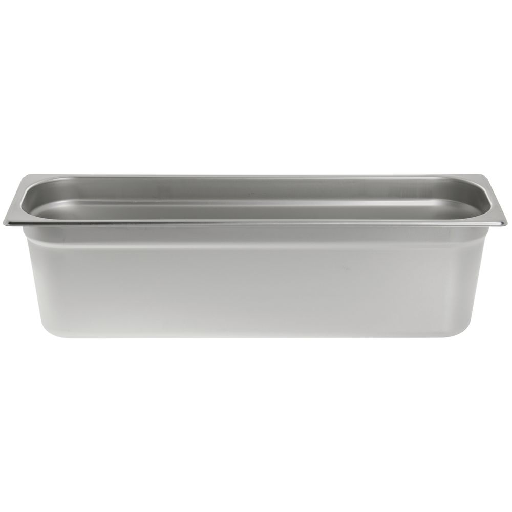 "Hubert® Steam Table Pan Half Size Long 6""D"