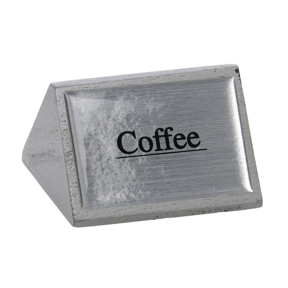 CO SIGN, BEVERAGE, COFFEE, SILVER