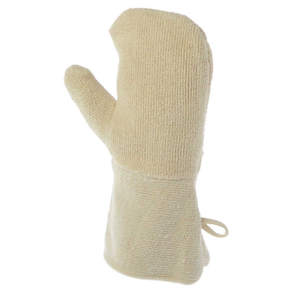 "MITTS, HEAVYWEIGHT TERRY CLOTH, 24""L, PR"