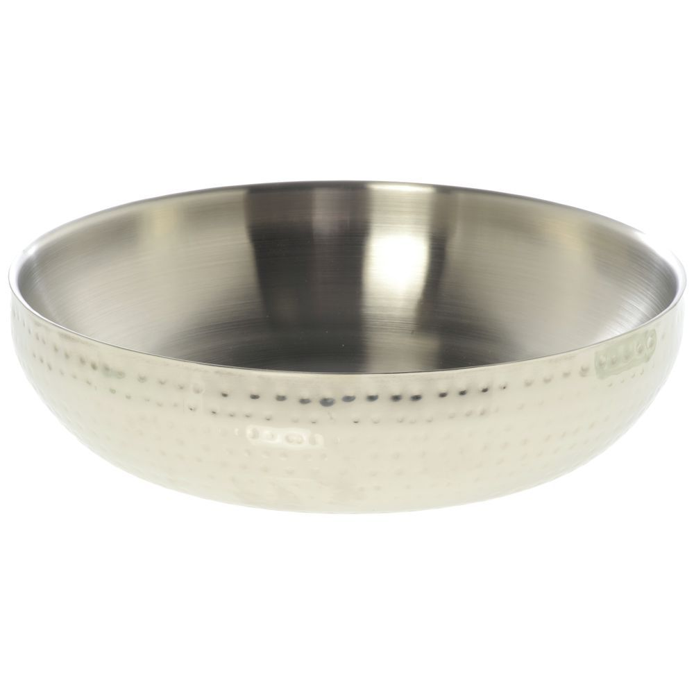 BOWL, HAMMERED, DOUBLE WALL 25 OZ 14X4.5