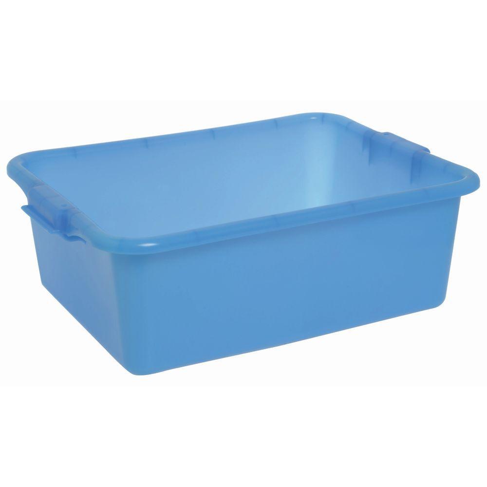"""Food Boxes Solid 20""""L x 15""""D x 7""""H Blue"""