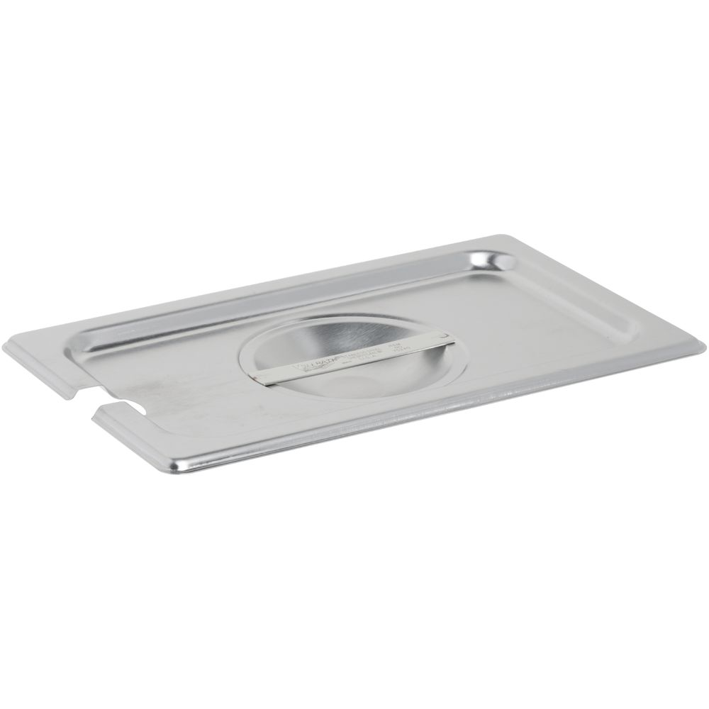 Vollrath Steam Table Pan Cover 1/4 Size Flat Slotted