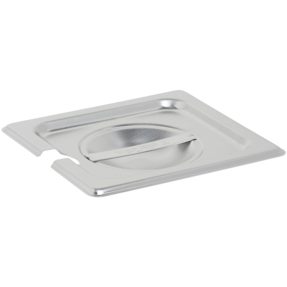 Vollrath Steam Table Pan Cover 1/6 Size Flat Slotted