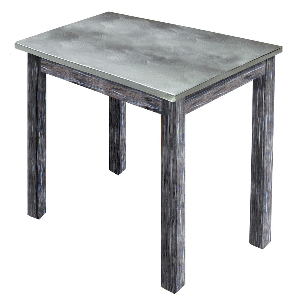TBLE, GALV.TOP, RUSTIC GRAY, 24WX20LX22-1/4