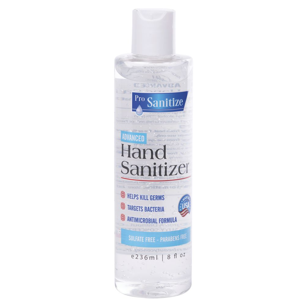 Hand Sanitizer With Snap Lid - 8 oz