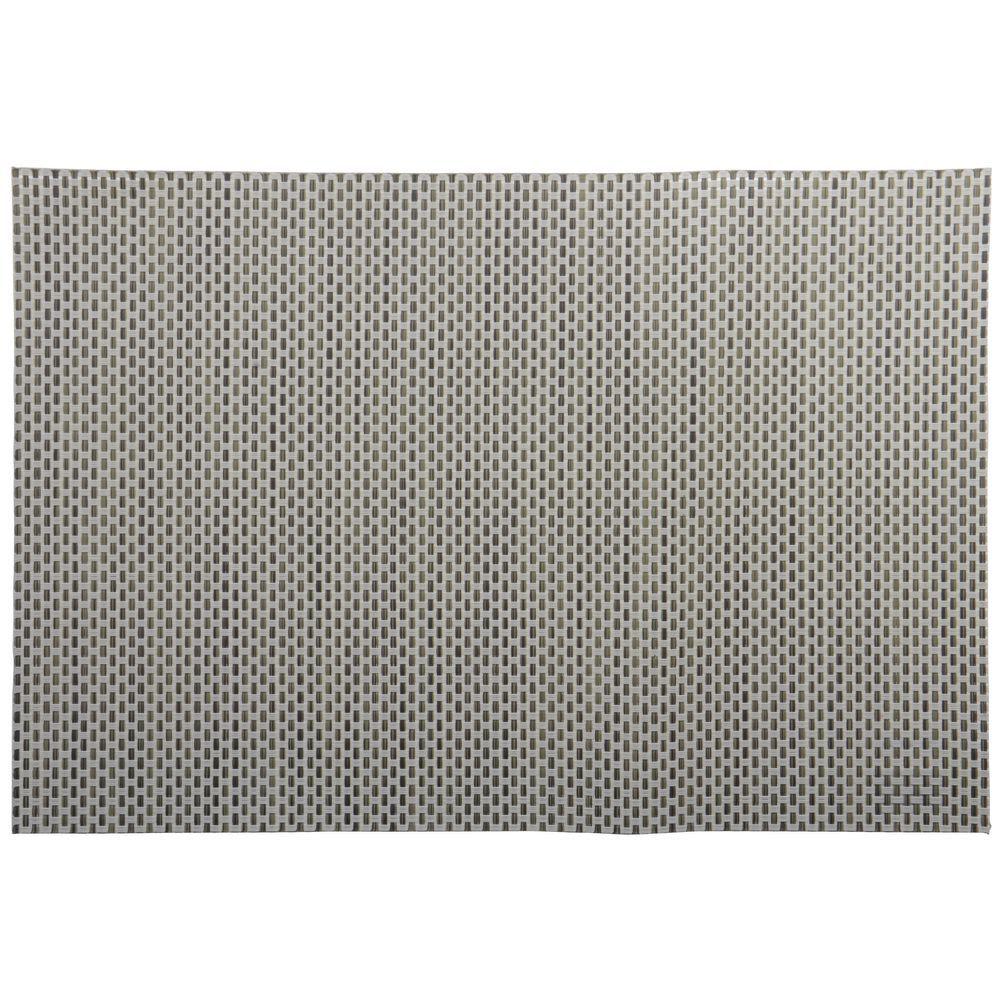 Hubert Woven Linen Vinyl Placemat 11 4 5 W X 17 3 4 L
