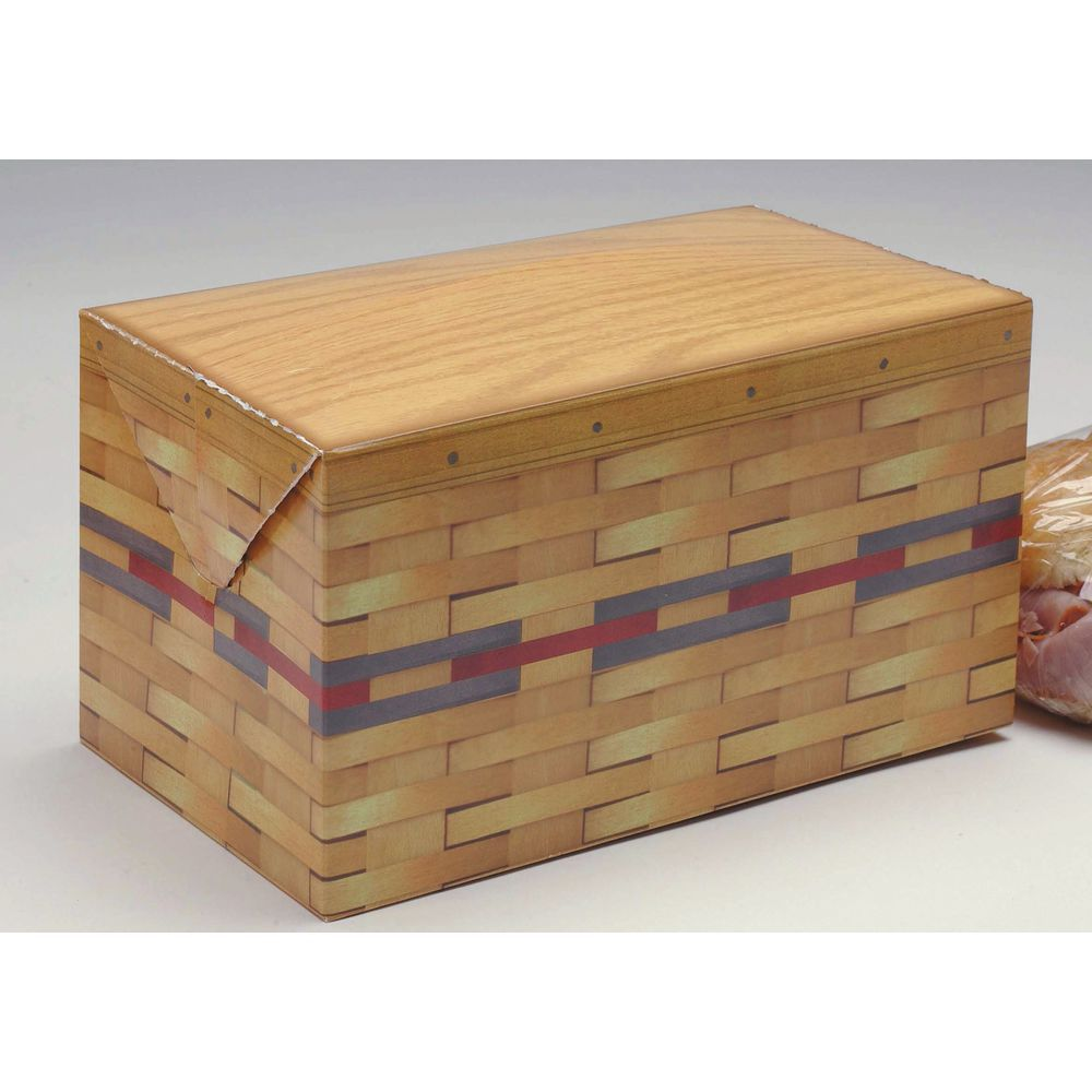 Carry Out Boxes Have A Weight Capacity Of 8 Lbs.