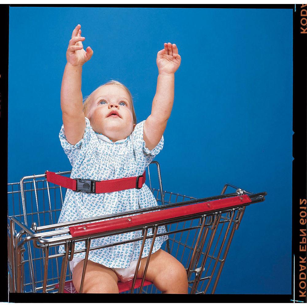 BELT, INFANT SAFETY, RED, ASTM COMPLIANT/DZ