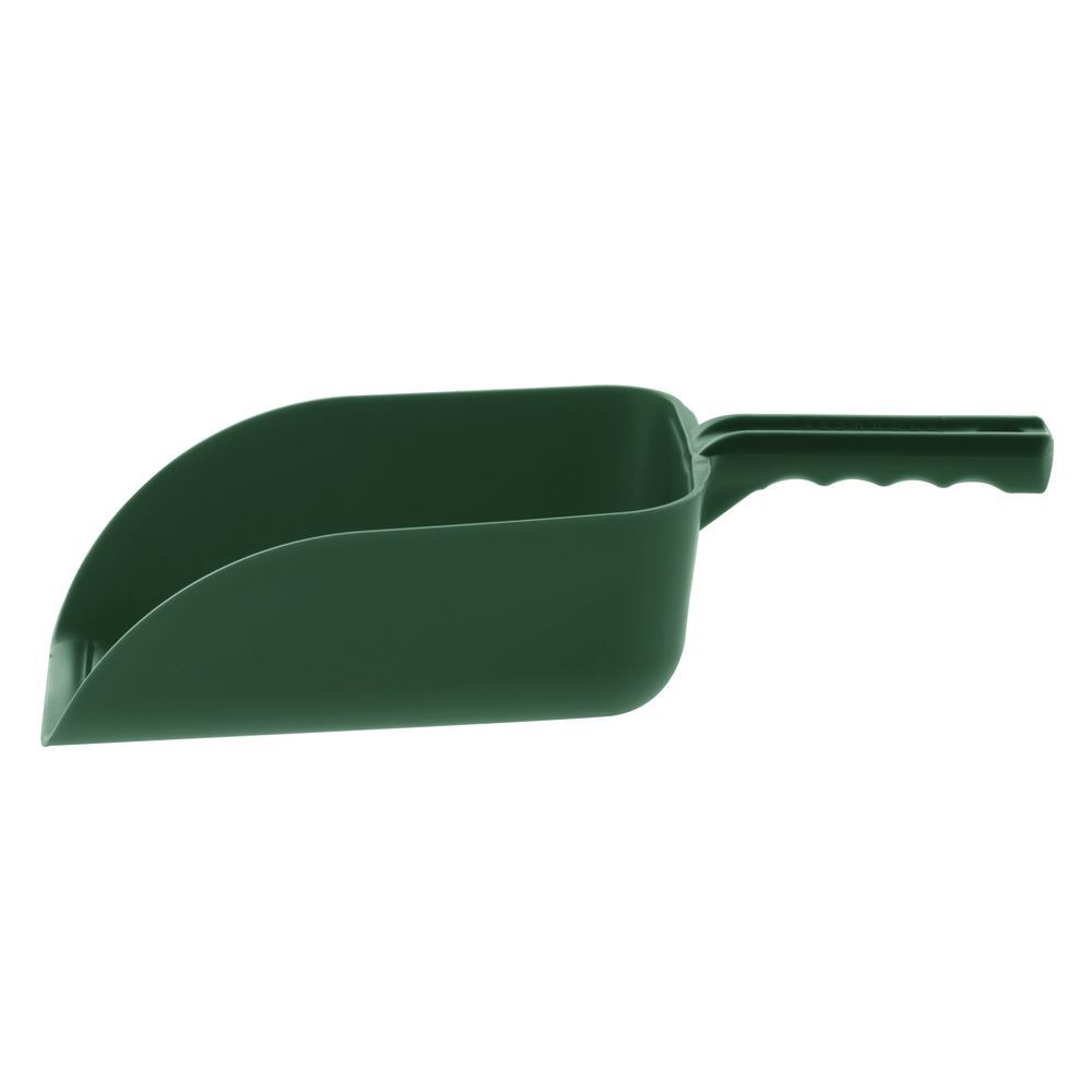 """HAND SCOOP LARGE, 15""""X 6.5""""X 3.5""""H, GREEN"""