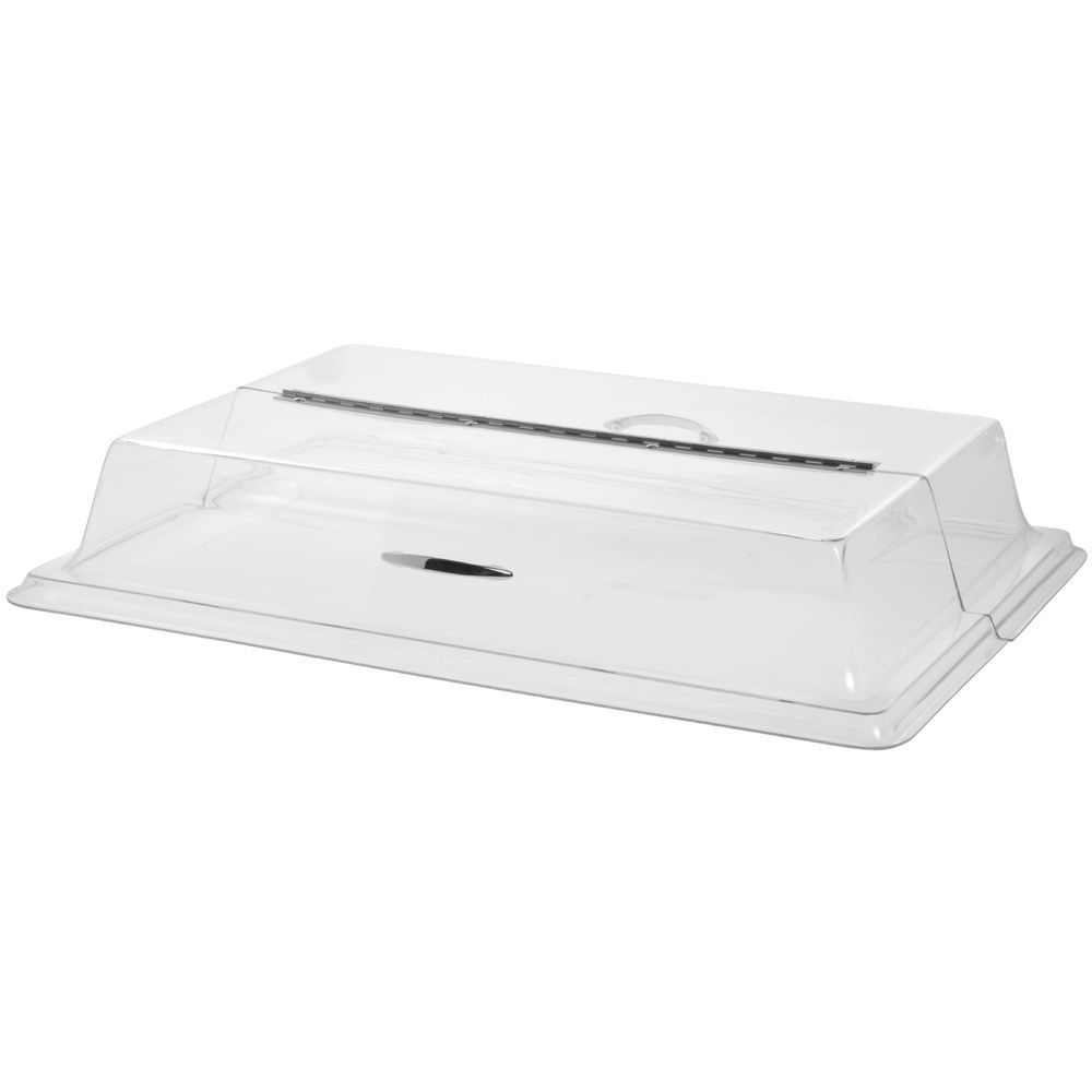 Large Clear Rectangular Cover Meant to Hold a Wide Range of Products