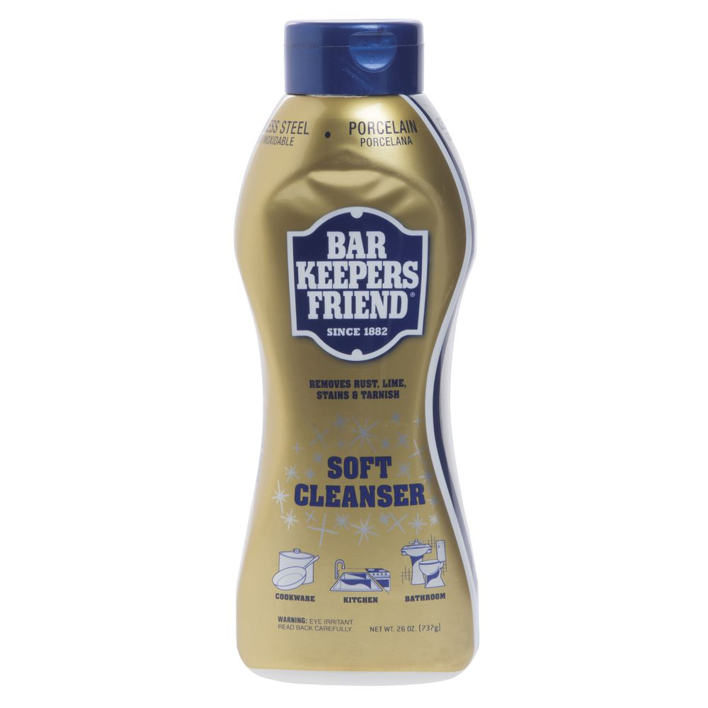 SOFT CLEANSER, BAR KEEPERS FRIEND
