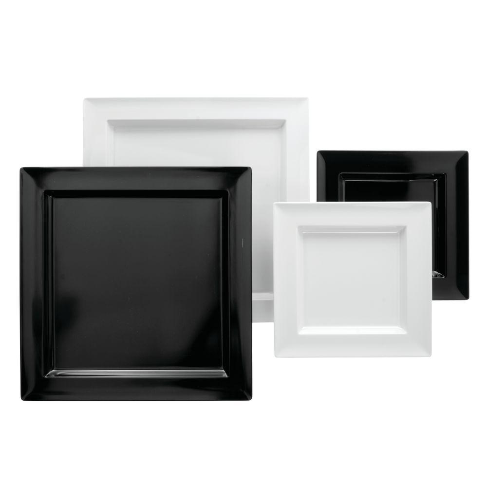 """Dalebrook Square Melamine Display Tray  in White  9 3/4""""L x  1""""H"""
