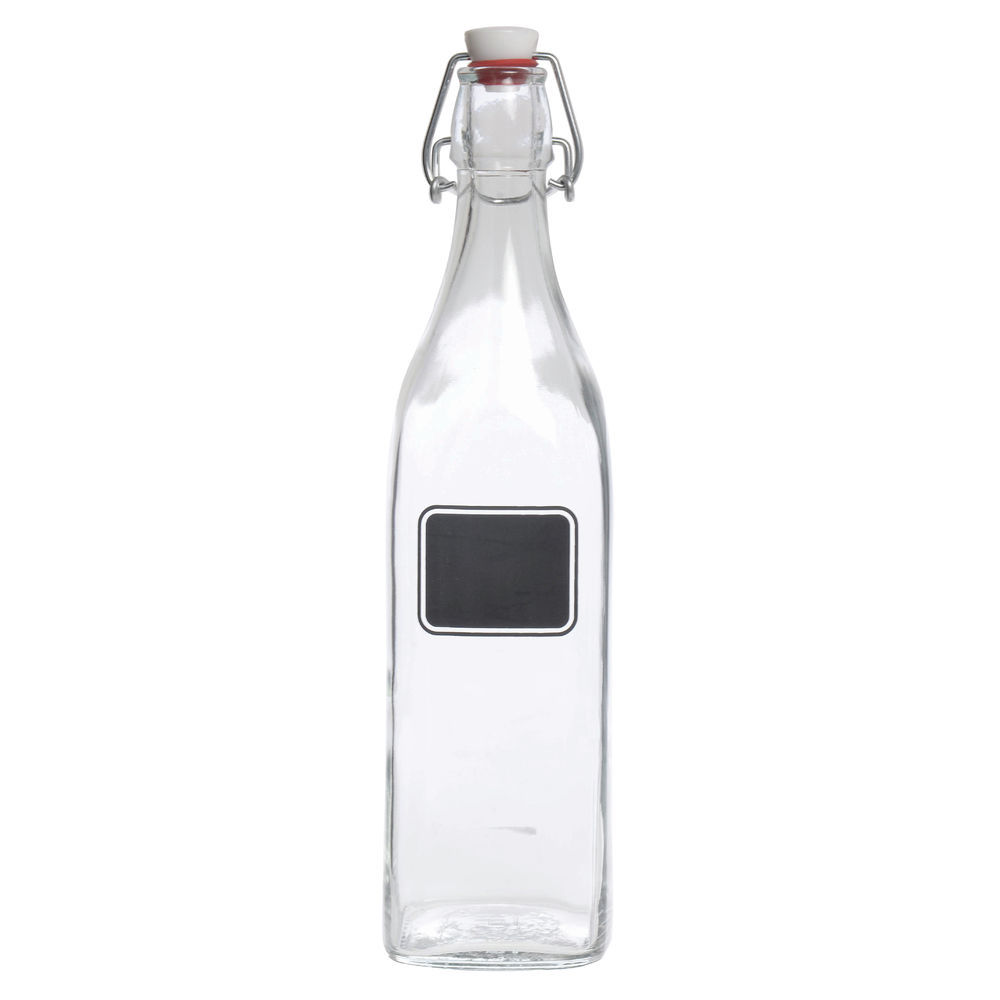 BOTTLE, SWINGTOP, 34 OZ.W/CHALKBOARD