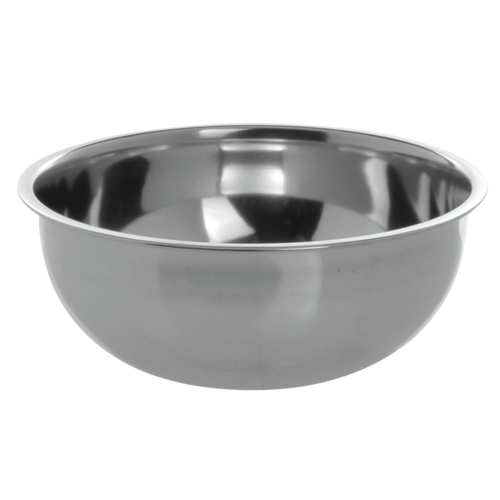 Stainless Steel Mixing Bowls can Easily Hold 2 oz. of Any Contents.