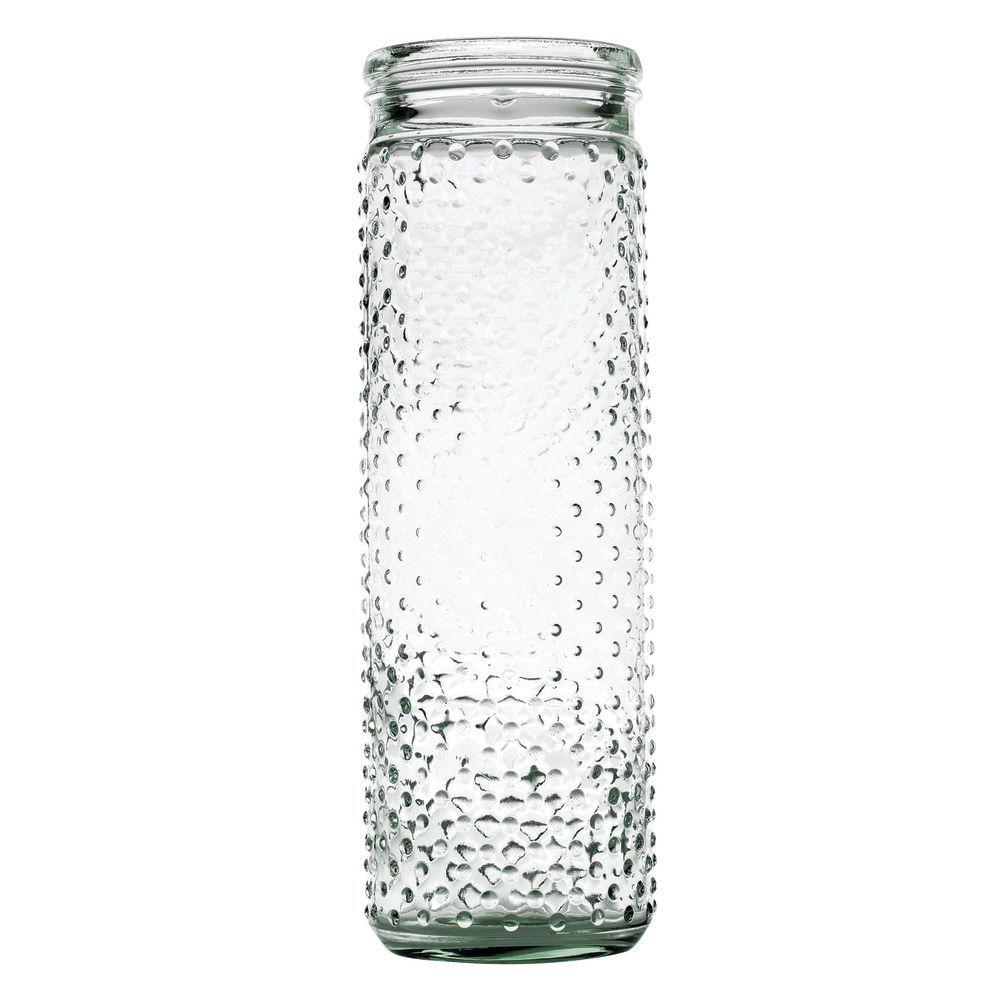 JAR, HOBNAIL, CLEAR, 4X13