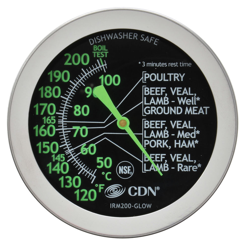 THERMOMETER, INSTA-READ, MEAT/POULTRY, GLOW