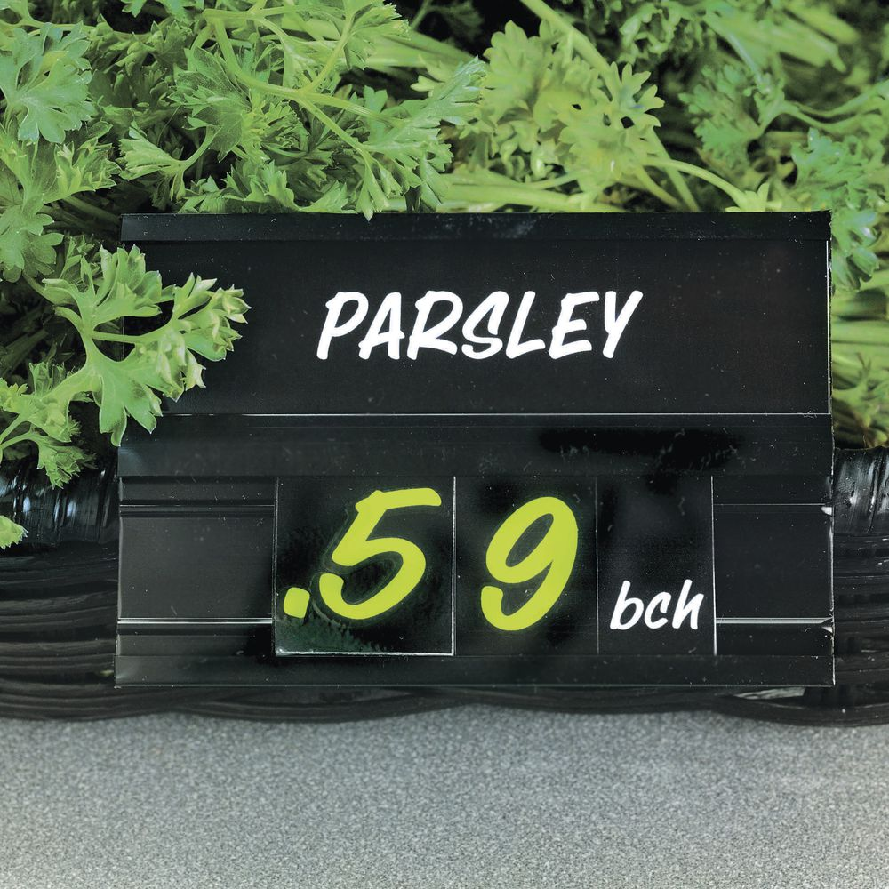 Vegetable Sign for Wire Basket or Wire Fence