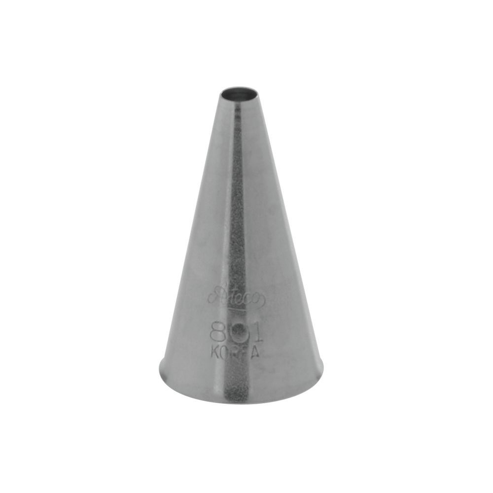 Pastry Tip Plain #801 Stainless Steel