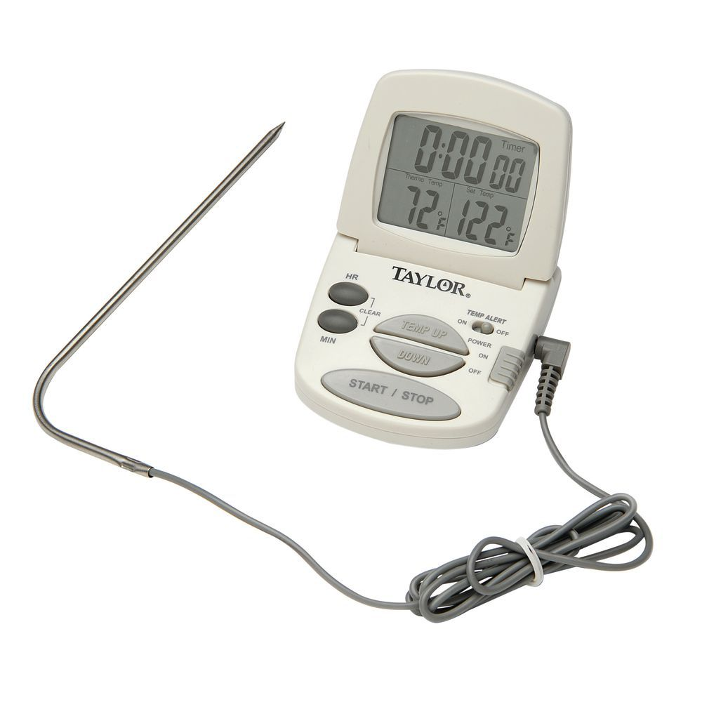 COOKING THERMOMETER AND TIMER
