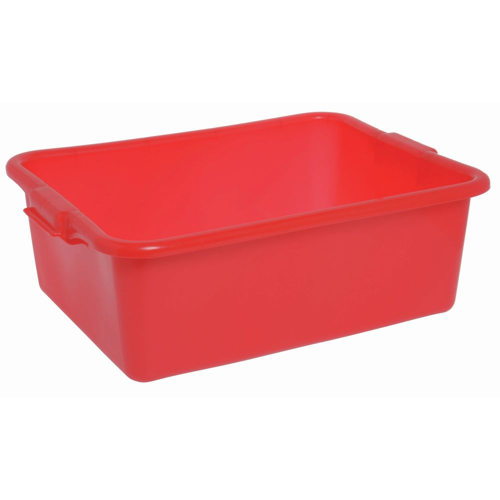 "Food Boxes Solid 20""L x 15""D x 7""H Red"