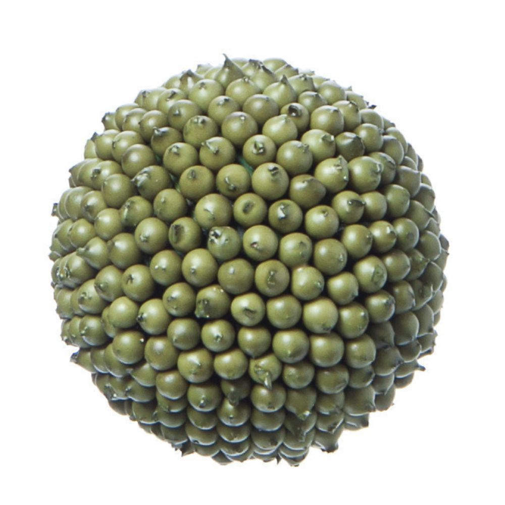 "CO BALL, DECO BERRY, SAGE GREEN, 4""DIA"