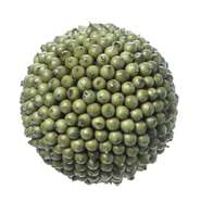 "BALL, DECO BERRY, SAGE GREEN, 4""DIA"
