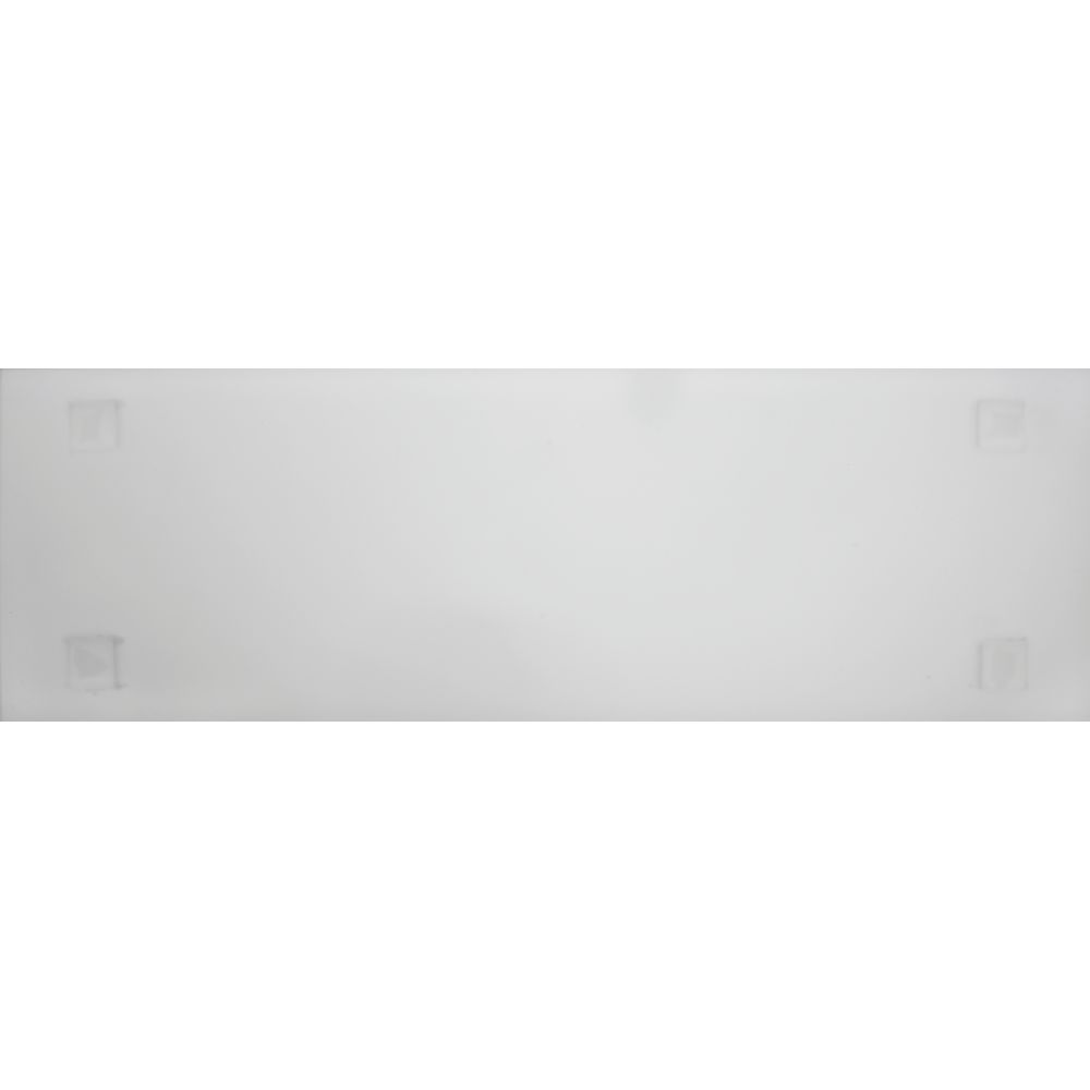 TRAY, HALF LONG, FROSTED CLEAR, ACRYLIC